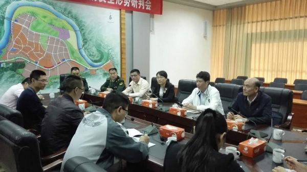 梅江区肖卫华区长率队深入东升工业园区调研指导消防安全工作